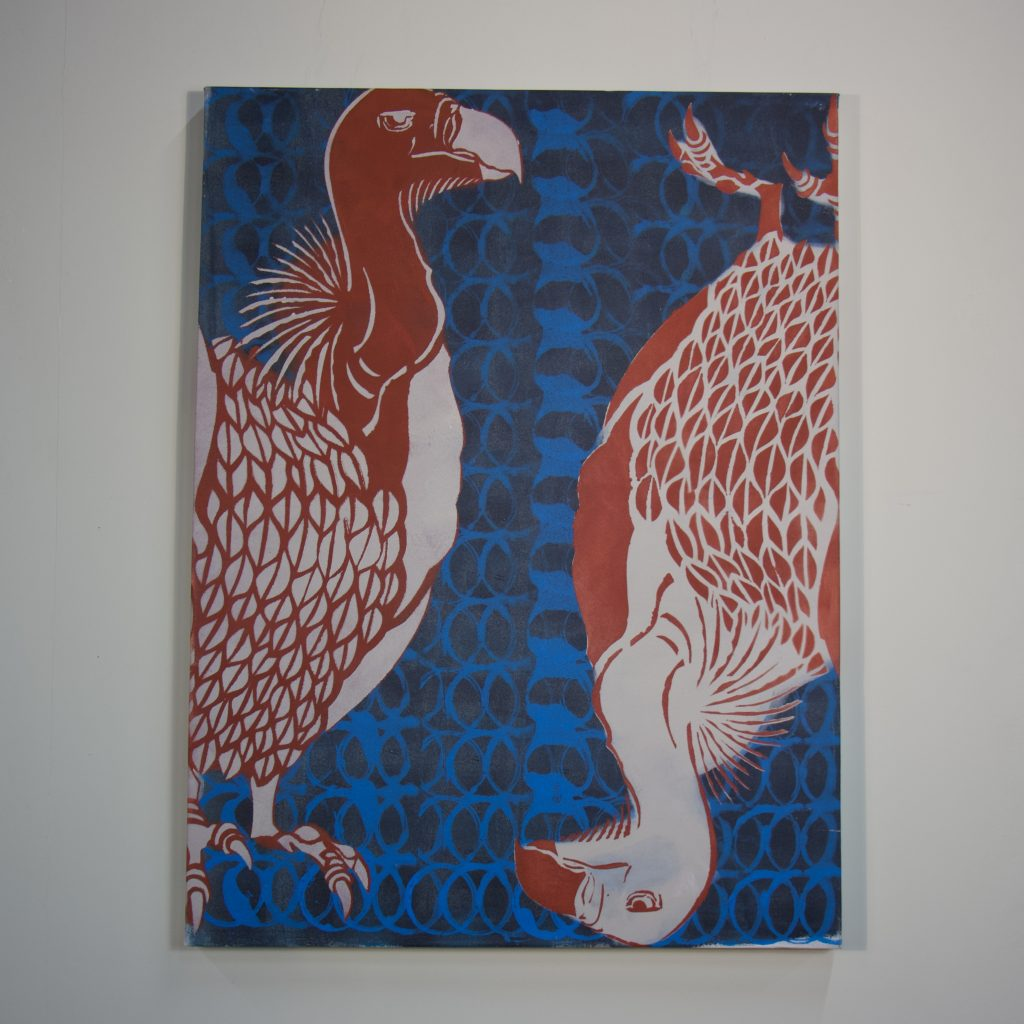Vulture Capitalism - Roadsworth