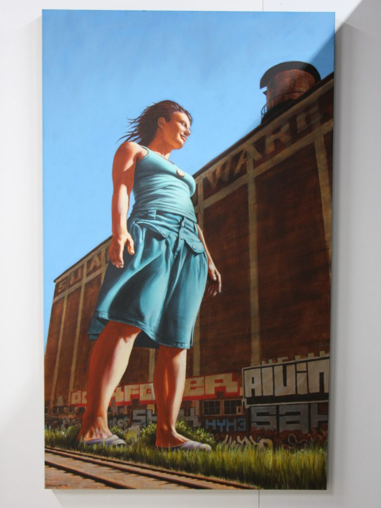 Giant Claudia - Dan Buller