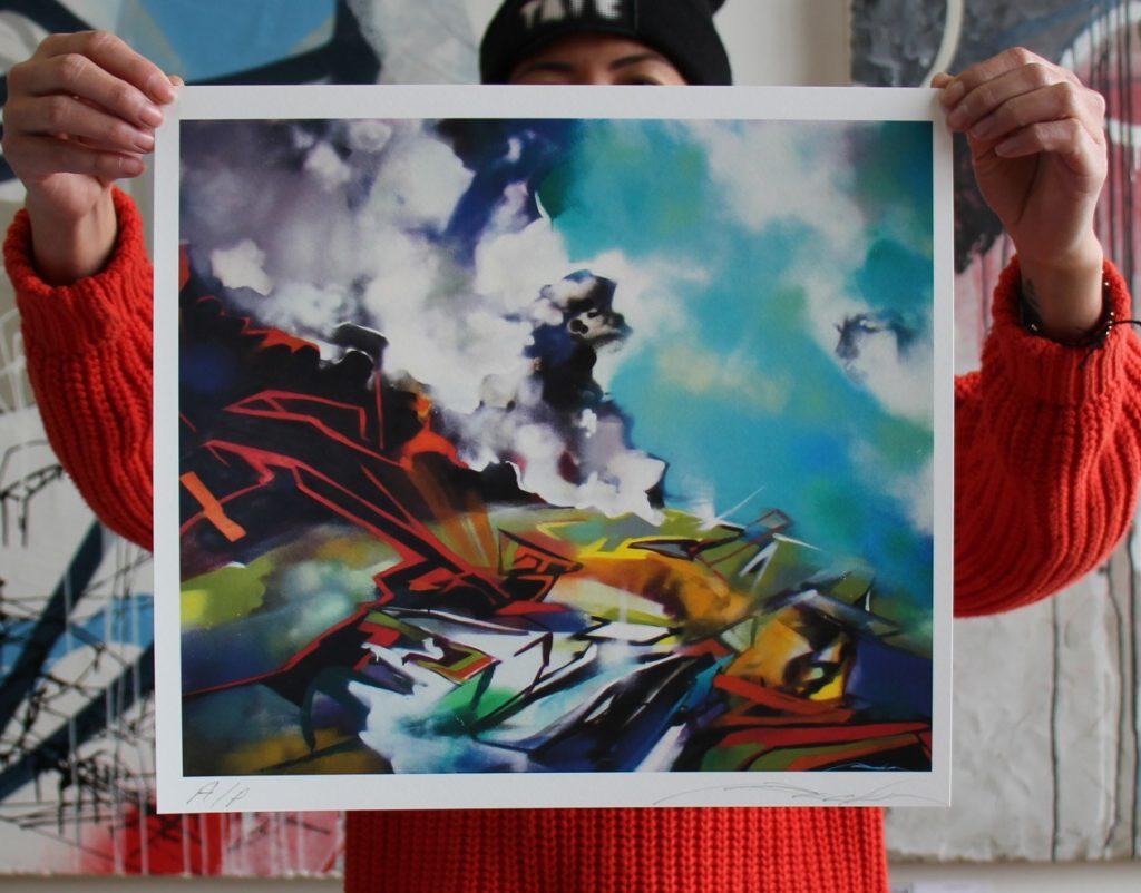 Matilija Art Print - RECKA