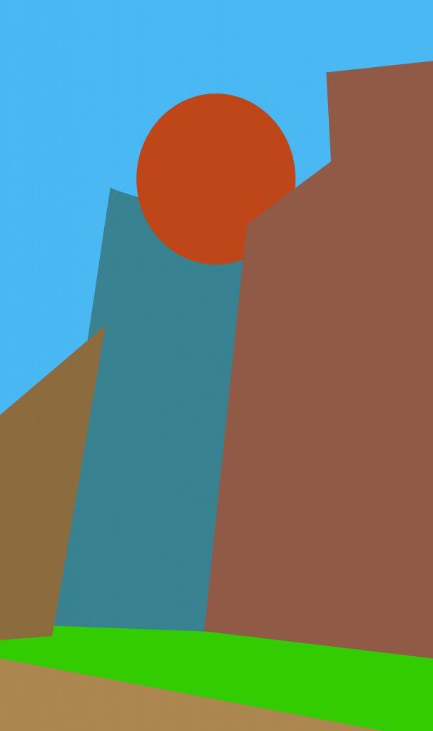 Desert Falls (Sun Rises) - Steven Ferrara